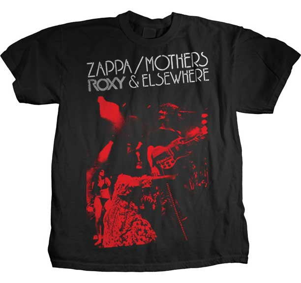 Frank Zappa Roxy & Elsewhere t-shirt