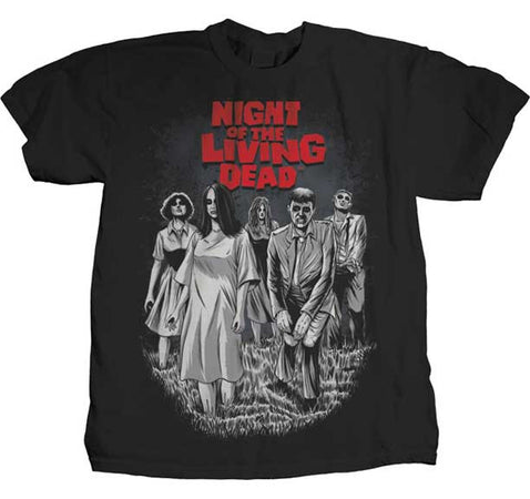 Night of The Living Dead Bloodthirsty Black t-shirt