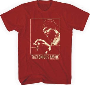Thelonious Monk Crimson Monk Lightweight Crimson t-shirt