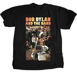 Bob Dylan Basement Tapes Black Lightweight t-shirt