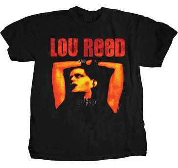 Lou Reed  Rock N Roll Animal Black t-shirt