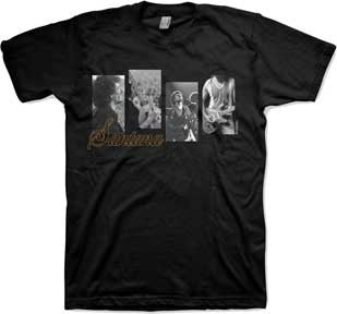 Santana Re-Evolution Black Lightweight t-shirt