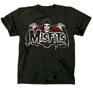 Misfits-Batfiend-Black t-shirt
