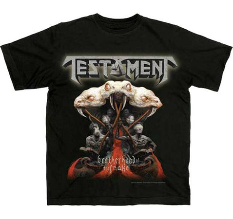 Testament - Brotherhood Of The Snake - Black t-shirt