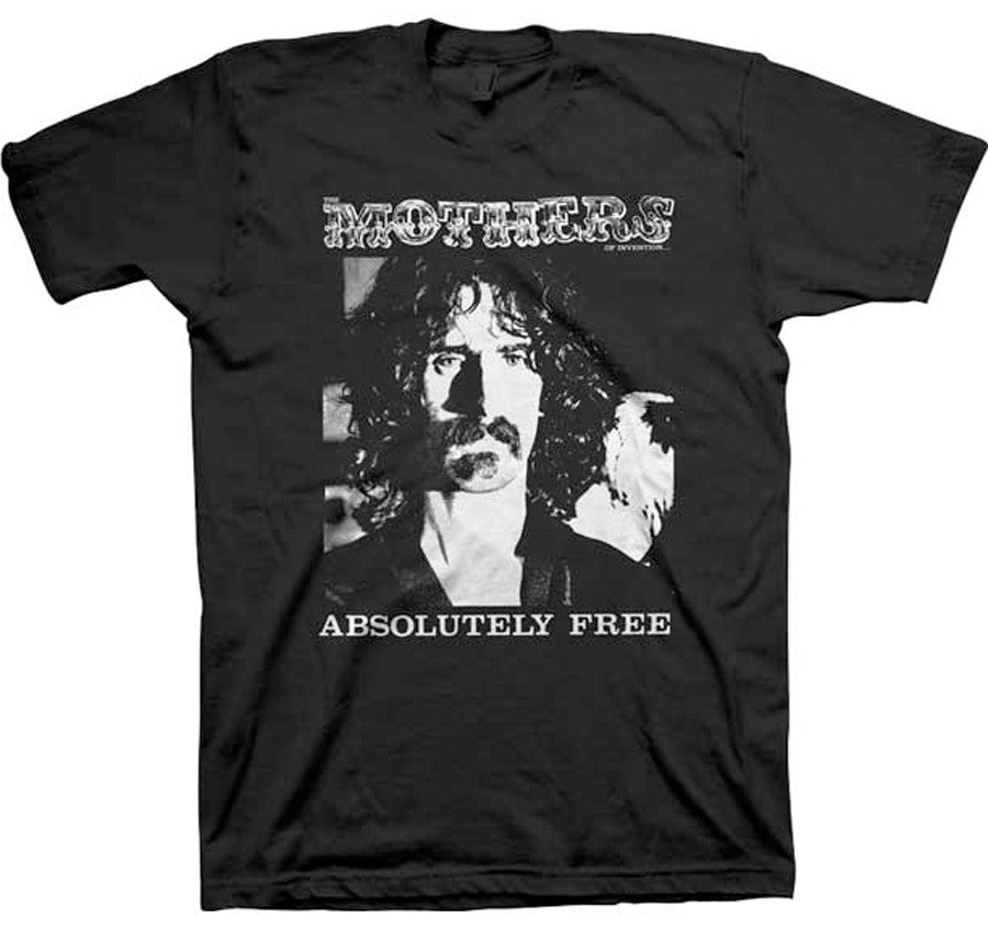 Frank Zappa Absolutely Free Black t-shirt