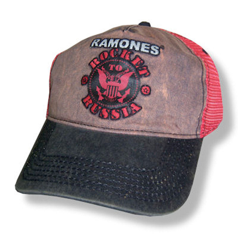 The Ramones - Rocket To Russia- Truckers Baseball Cap
