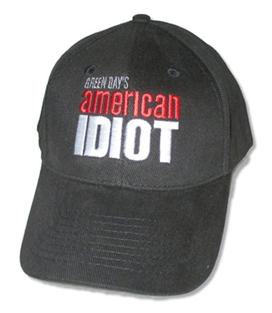Green Day - American Idiot Logo - Black Baseball Cap