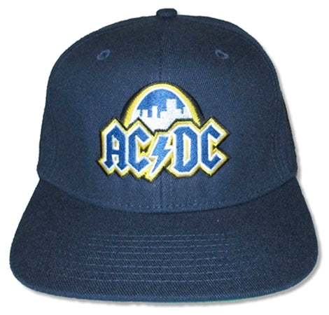 AC/DC - St Louis Event 2016 - Snap Back Navy Blue Baseball Cap