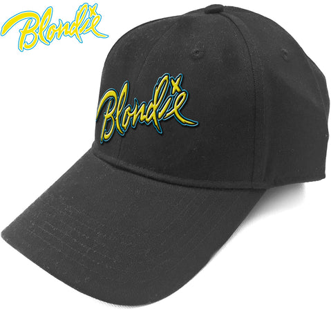 Blondie - Eat To The Beat Logo - Black Baseball Cap