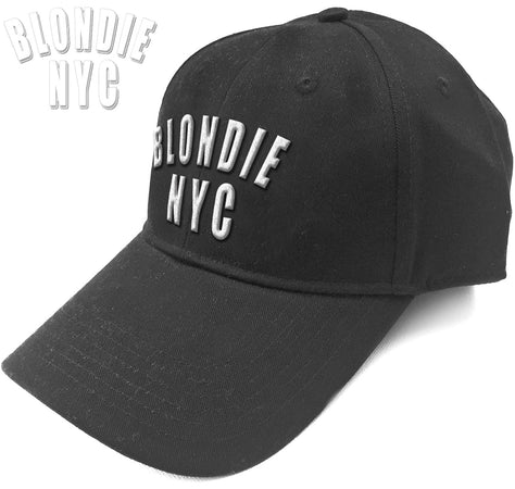 Blondie - Blondie NYC Logo - Black Baseball Cap