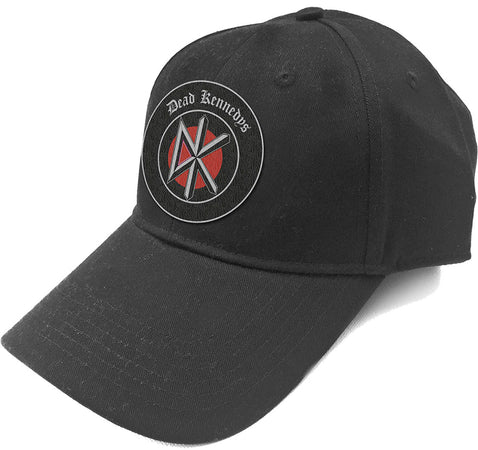Dead Kennedys - Patch Logo - Black OSFA Baseball Cap