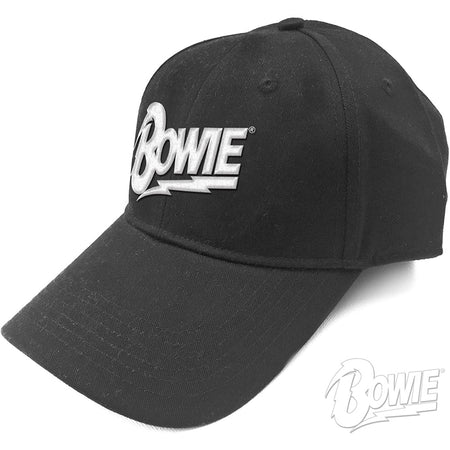 David Bowie - Flash Logo - Black Baseball Cap