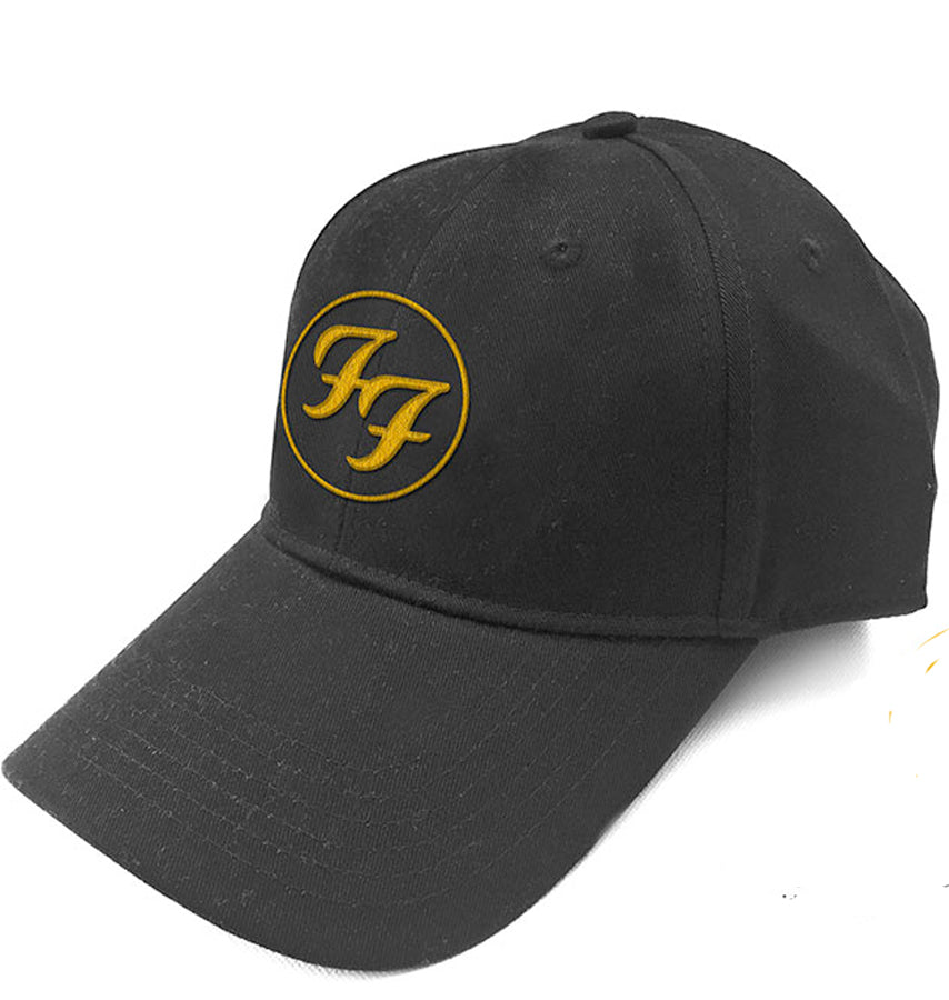 Foo Fighters - Logo - Black OSFA Baseball Cap