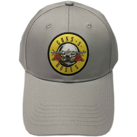 Guns N Roses - Circle Logo - Grey OSFA Baseball Cap