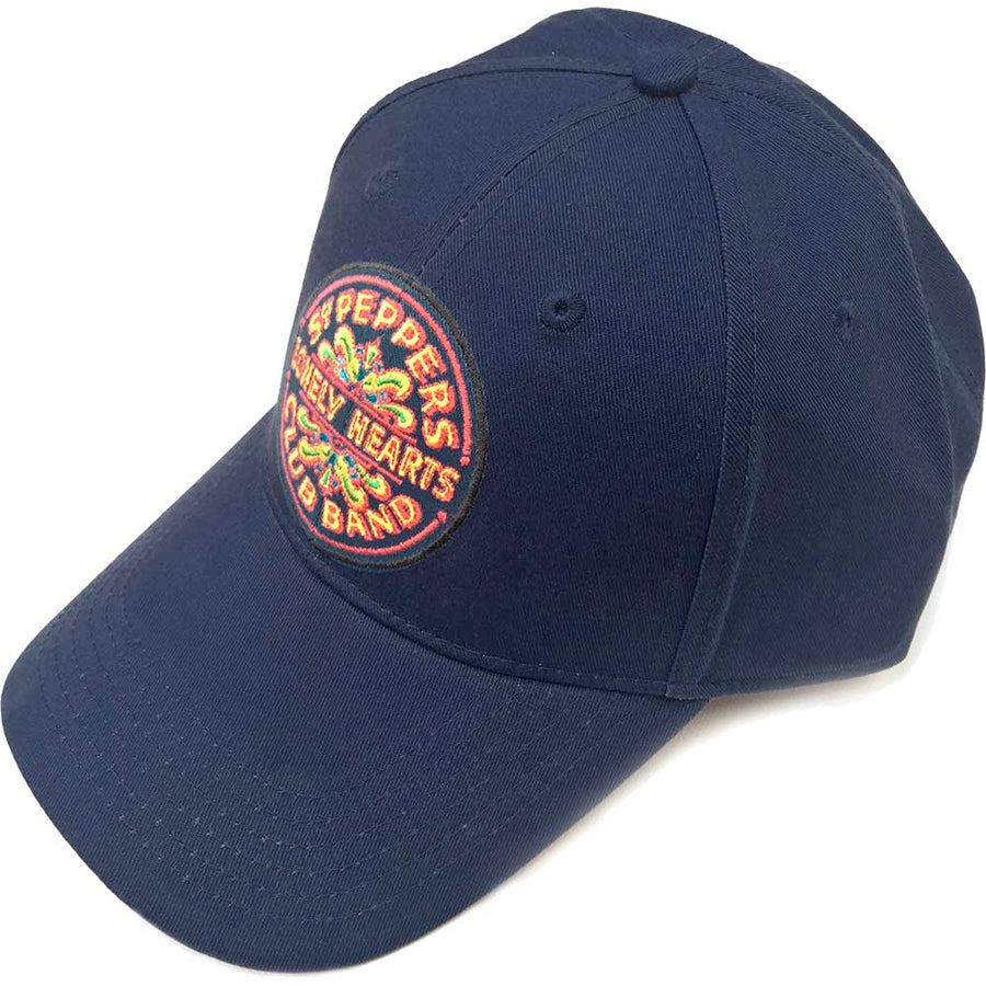 The Beatles - Sgt Pepper  - Navy Blue OSFA Baseball Cap