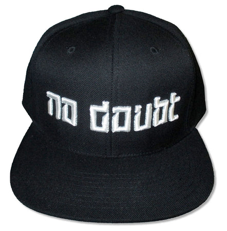 No Doubt - Embroidered Logo - Baseball Cap