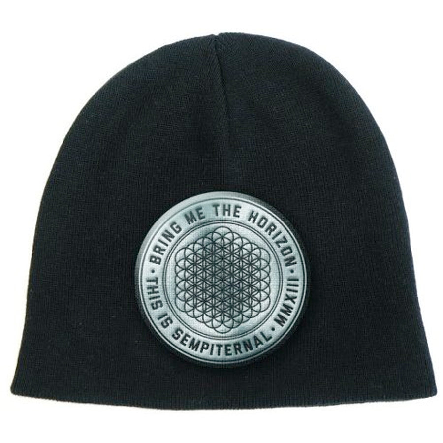 Bring Me The Horizon - Sempiternal Logo - Black Ski Cap Beanie