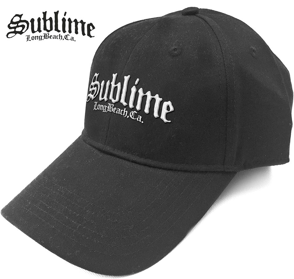 Sublime - Logo - Black Baseball Cap