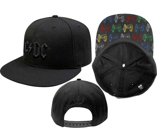 AC/DC - Snapback-Cannon Pop Art - Black OSFA Baseball Cap