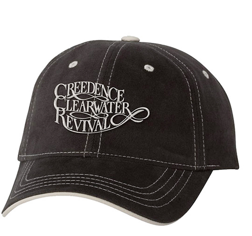 Creedence Clearwater Revival - Logo - Black OSFA Baseball Cap