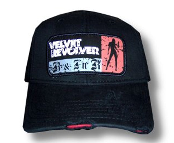 Velvet Revolver - Distressed  Frayed Edges -  Baseball Cap