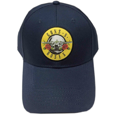 Guns N Roses - Circle Logo - Navy OSFA Baseball Cap