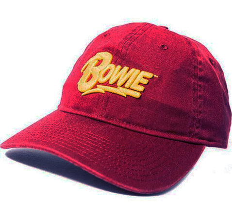 David Bowie - Logo-Direct Embroidery - Tri Glide Closure Baseball Cap