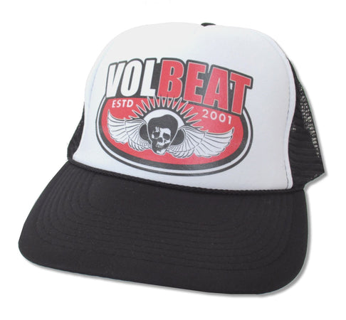 Volbeat - Wings OSFA Snap Back - Trucker Baseball Cap