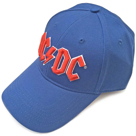 AC/DC - Red Logo - Blue OSFA Baseball Cap