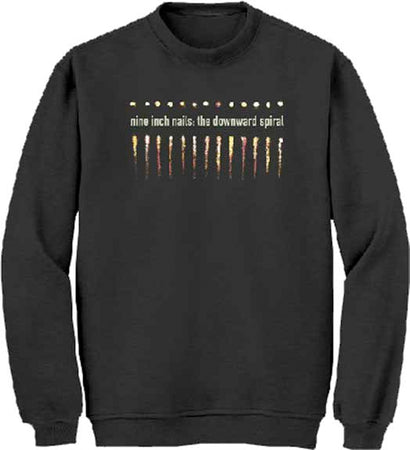 Nine Inch Nails - Salt & Teeth - Black Crew Sweatshirt