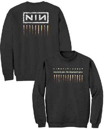 Nine Inch Nails - Downward Spiral - Black Crew Sweatshirt
