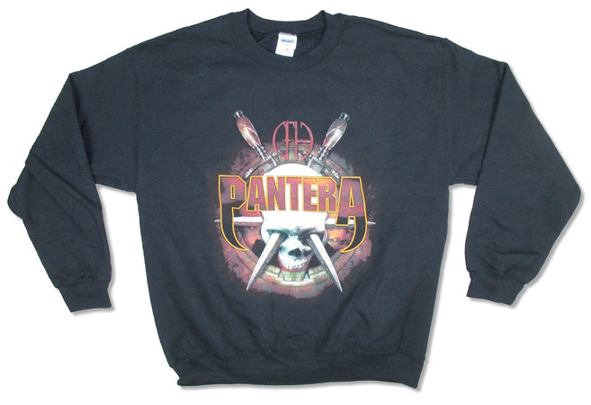 Pantera - Knives - Crew Black  Sweatshirt