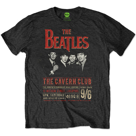 The Beatles - Eco-Tee-Cavern 63 - Black T-shirt