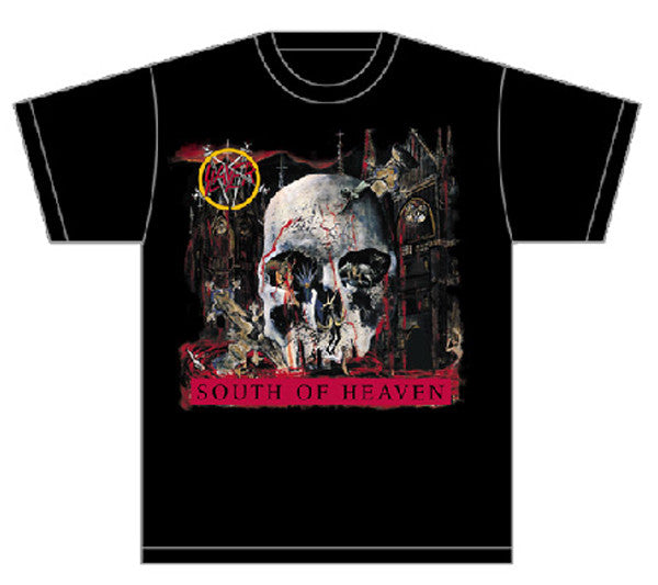 Slayer South Of Heaven Black T-shirt