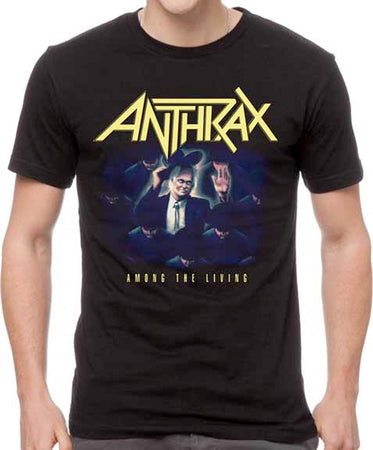 Anthrax - Among The Living - Black T-shirt