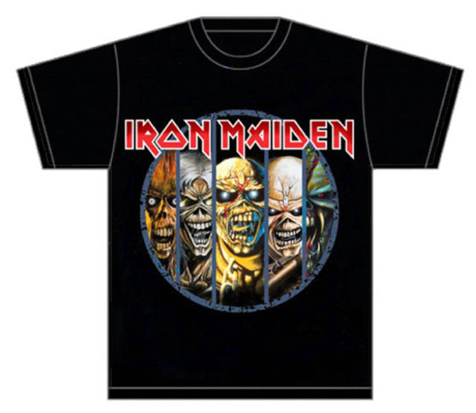 Iron Maiden-Eddie Evolution-Black T-shirt