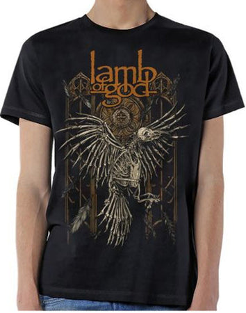 Lamb Of God-Crow-Black t-shirt