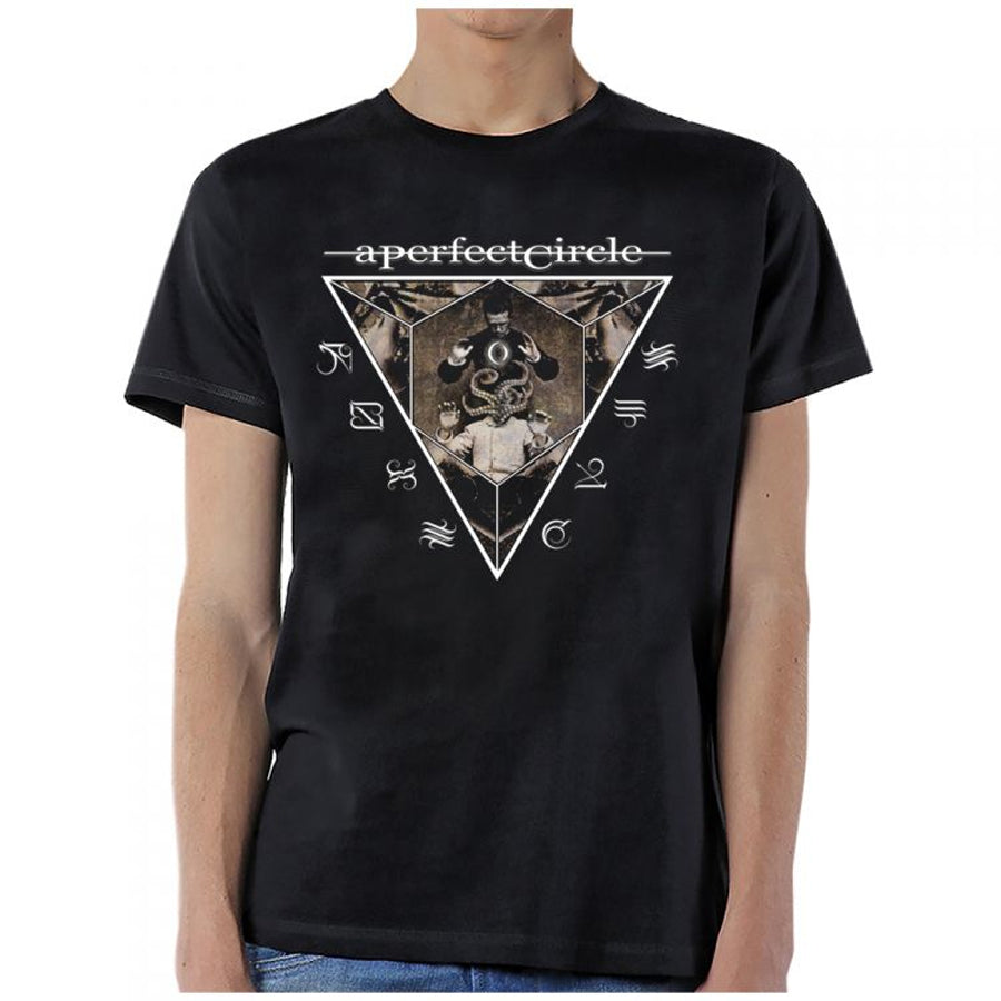 A Perfect Circle-Outsider-Black Lightweight t-shirt