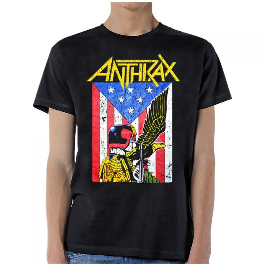 Anthrax-Dread Eagle-Black T-shirt