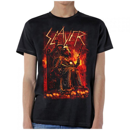Slayer-Rib Goat-Black T-shirt
