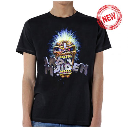 Iron Maiden-Eddie Crunch-Black T-shirt