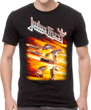 Judas Priest-Firepowerr-Black t-shirt