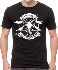 Lamb Of God- Divine Influence - Black t-shirt