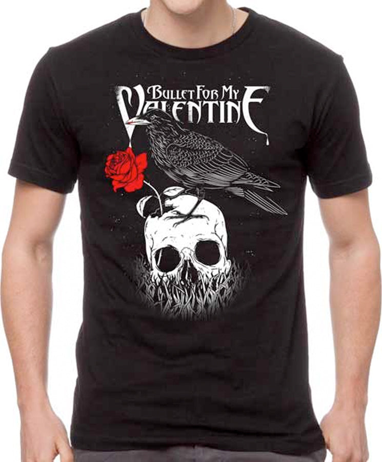 Bullet For My Valentine - Raven - Black t-shirt