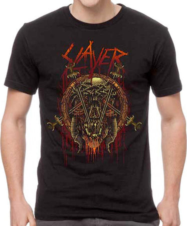 Slayer - Rotting Skull - Black t-shirt