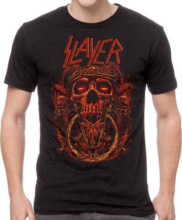 Slayer - Crown Of Thorns - Black T-shirt