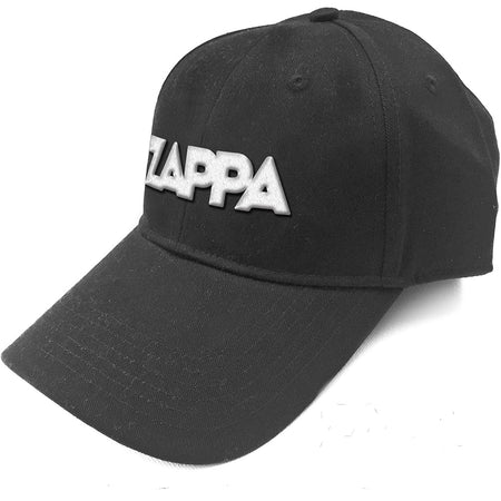Frank Zappa-3D Embroidered Logo-Black OSFA Baseball Cap