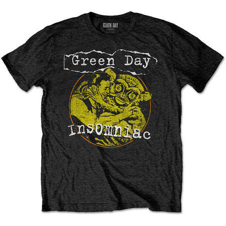 Green Day. - Free Hugs - Black  T-shirt