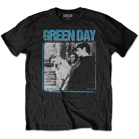 Green Day. - Photo Block - Black  T-shirt