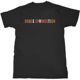 Bruce Springsteen - Logo - Black T-shirt